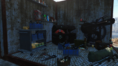 Workshop Clutter