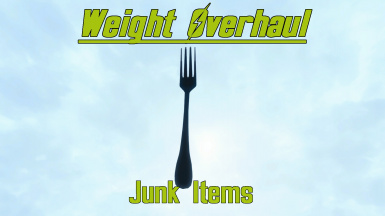Weight Overhaul - Junk Items