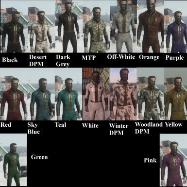 Color Chart- Before Updates