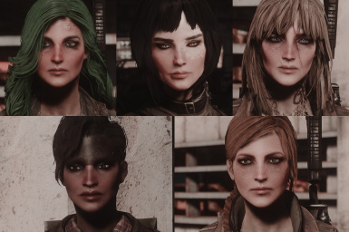 All with mods and valkyr face texture