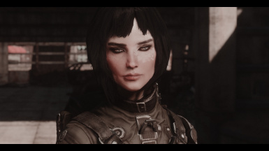 Lex with Valkyr face texture and Kats new hairstyles