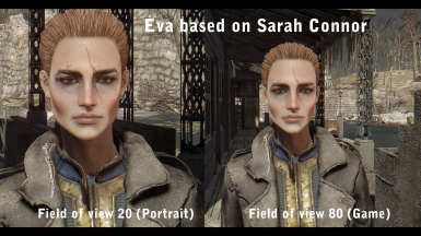 Eva based on Sarah Connor
