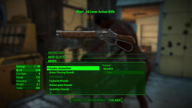 Mares Leg Style Lever Action