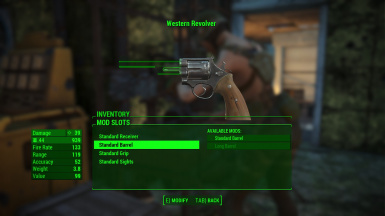 Western Revolver Fire rate buffed
