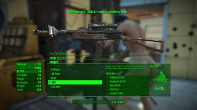 Upgraded Radium Rifle Rework