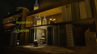 Inquisitor's Quarters for The Nucleus