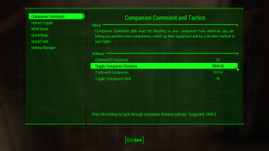Mod Configuration Menu at Fallout 4 Nexus - Mods and community