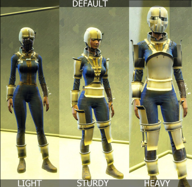 Craftable Synth Armor and Colors