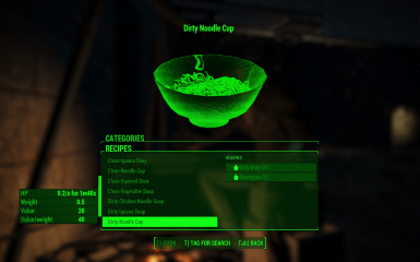 Fallout  Lack Requirements To Craft