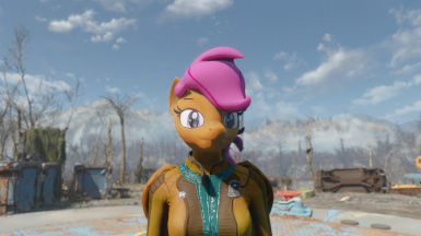 Adult Scootaloo