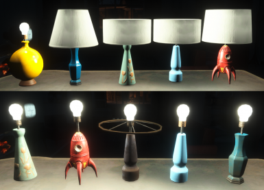Working Table Lamps