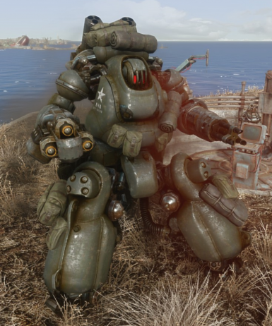 Military paint for Automatron robots at Fallout 4 Nexus - Mods and