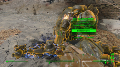 Automatron Sentry Bot-Assaultron Parts loot mod