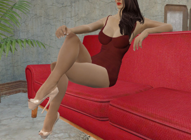 Female Sexy Sitting and Standing Animation Replacer