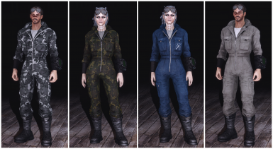 Unarmoured Jumpsuits example