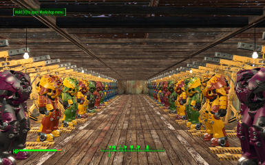 Worsin's Immersive Power Armor Garage (WIPAG) 2.5