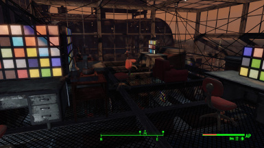 Ship Upper Command Deck Floor and wiring edits in update