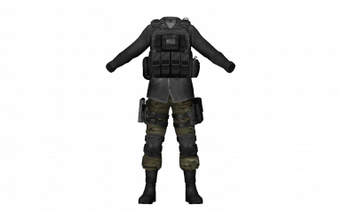 Black and Mulitcam tac vest