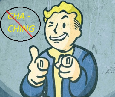 Fallout4 Cha Ching remover