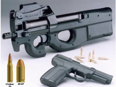 FN P90 - 5.7x28mm Re-Chamber (Requires New Calibers)