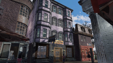 Spectacle Island Resort Town