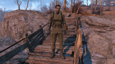 Dress Like Big Boss - Gunner Operative Fatigues