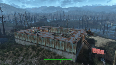 Fort Murkwater (Vanilla) - Settlement Blueprint