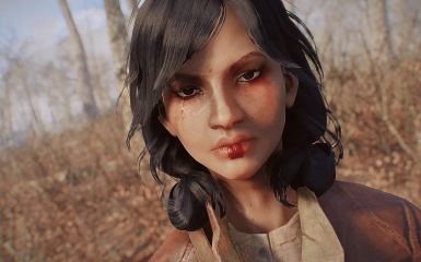 Wasteland Geisha (Asian Looksmenu preset)