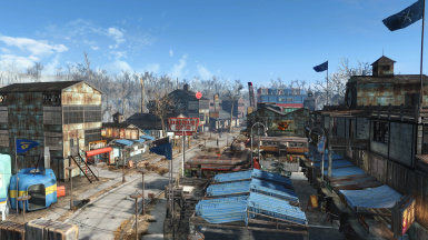 Sanctuary city settlement blueprint at fallout 4 nexus mods and main street malvernweather Images