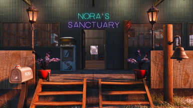 Nora's Sanctuary - Settlement Blueprint