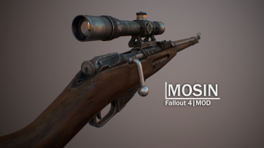 Mosin Nagant - Sniper Rifle