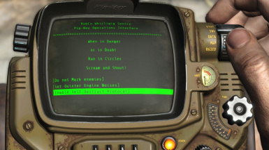 Pip-Boy Operations Interface