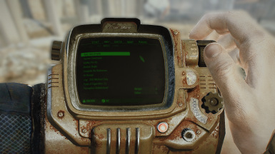 PipBoy 4k HD - Lore accurate