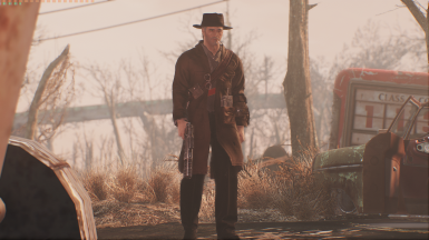 Old World Ghost Outfit At Fallout 4 Nexus Mods And Community