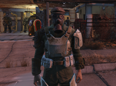 Gas Mask Hat Fix