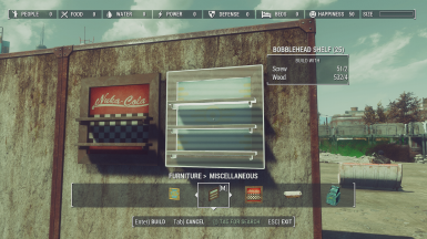 Craftable Display Shelves At Fallout 4 Nexus Mods And
