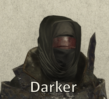 Darker Disciple Hood and Mask