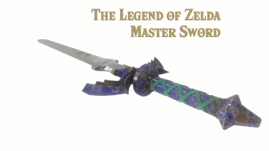 The Legend Of Zelda  Master Sword