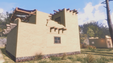 Adobe house kit at fallout 4 nexus mods and community for Cost to build adobe home