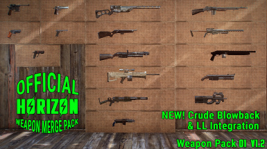 Official Horizon Weapon Merge Pack