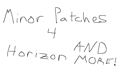 Unofficial Minor Patches for Various Mods and Horizon
