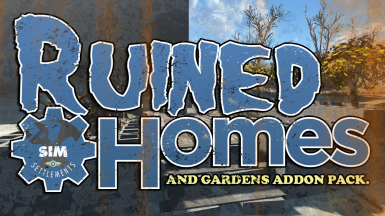 Sim Settlements - Ruined Homes and Gardens Add-on