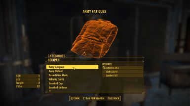 ColonolNutty's - Clothing and Armor Craft at Fallout 4 Nexus