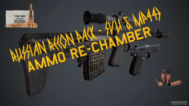 Russian Recon Pack - Ammo Re-chamber (Requires New Calibers)
