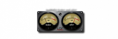 Audibility before and after