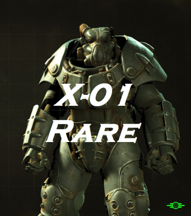 Reduced amount of X-01 Power Armor