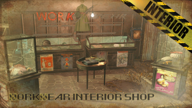 v7.4.0 Work Wear Interior Clothing Store