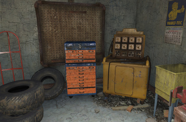 Red Rocket tool Chest