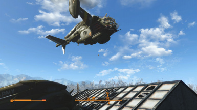 a brand new texture of brand new vertibird by PowerArmour