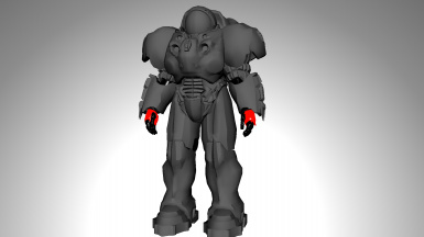 Starcraft 2 Space Marine Armor UV Mapped Mesh